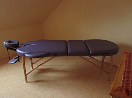 LundS fremdenzimmer massageliege